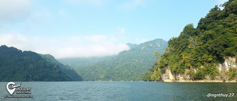 tour hồ ba bể bắc kạn